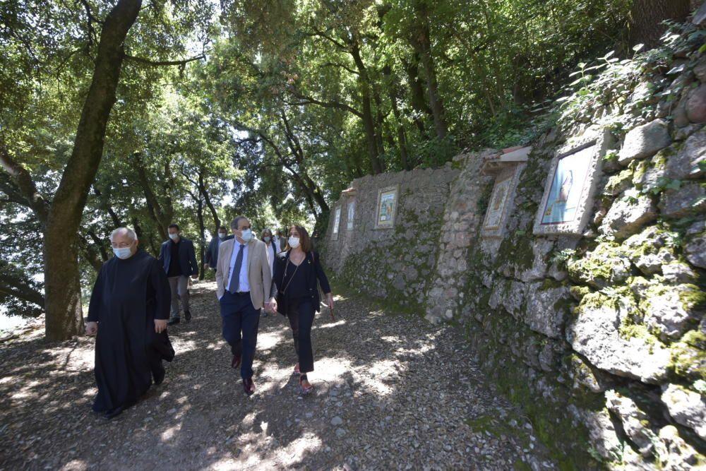 El president Torra presenta la primera ruta de «Camins del català»