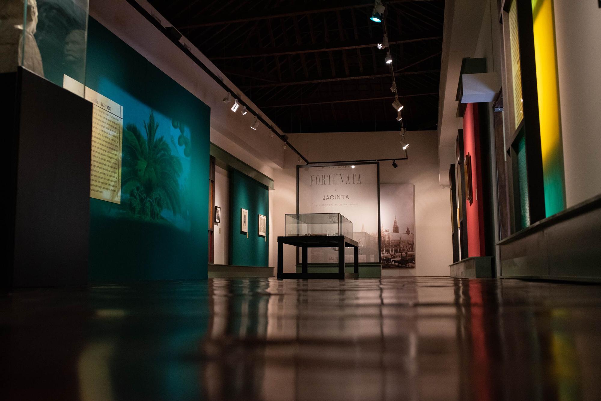 Presentación de la exposición sobre Galdós