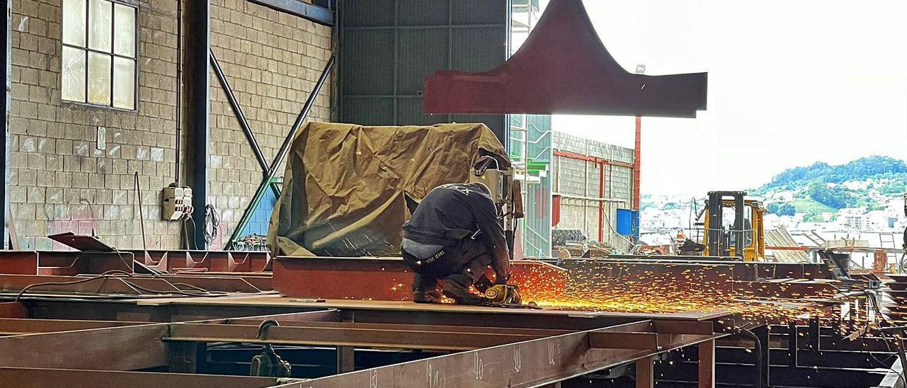 Trabajos previos realizados en las instalaciones de Xunqueira en Moaña. |   // FDV