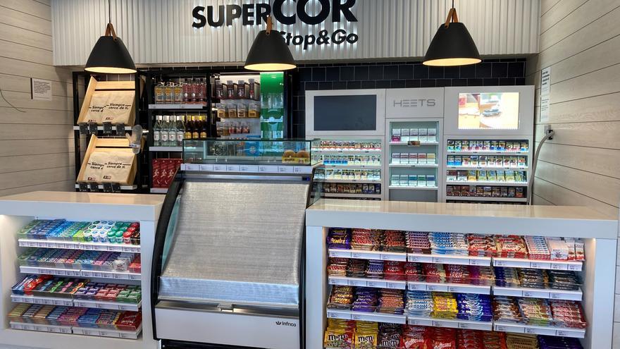 """Repsol y el corte inglés abren  """"Supercor stop&go"""", su primera franquicia en Canarias"""