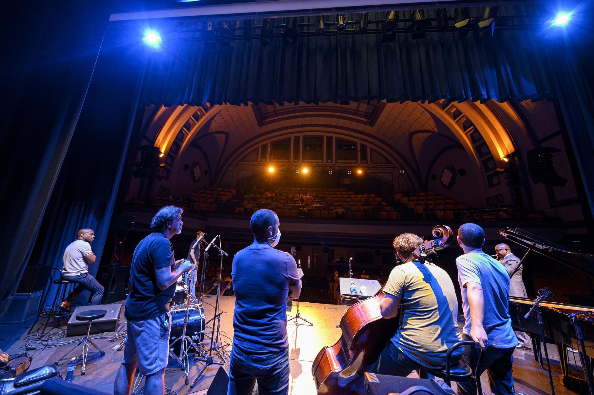 Masterclass de Wynton Marsalis en el  Festival Internacional Canarias Jazz & Más