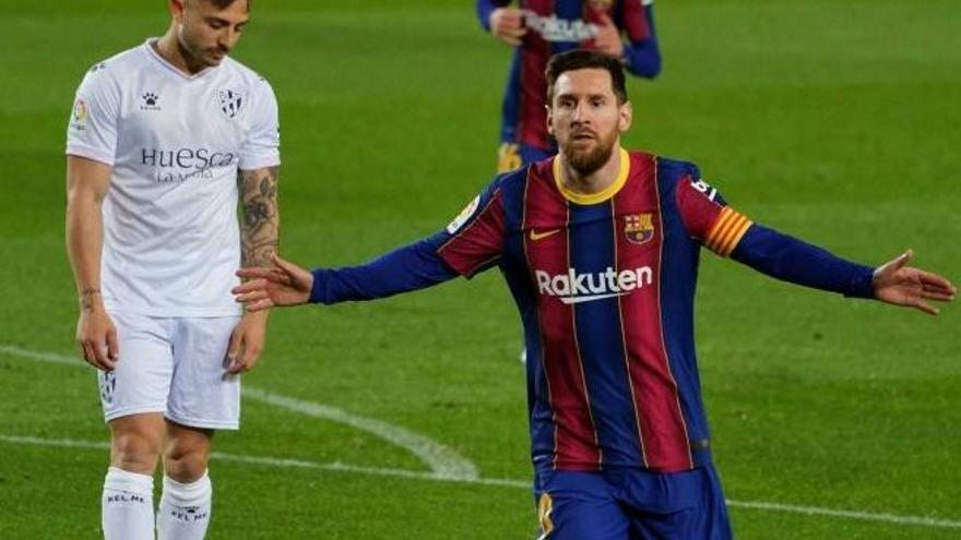 Todos los goles de la jornada 27 de LaLiga: Messi pone al Barça a cuatro del Atlético