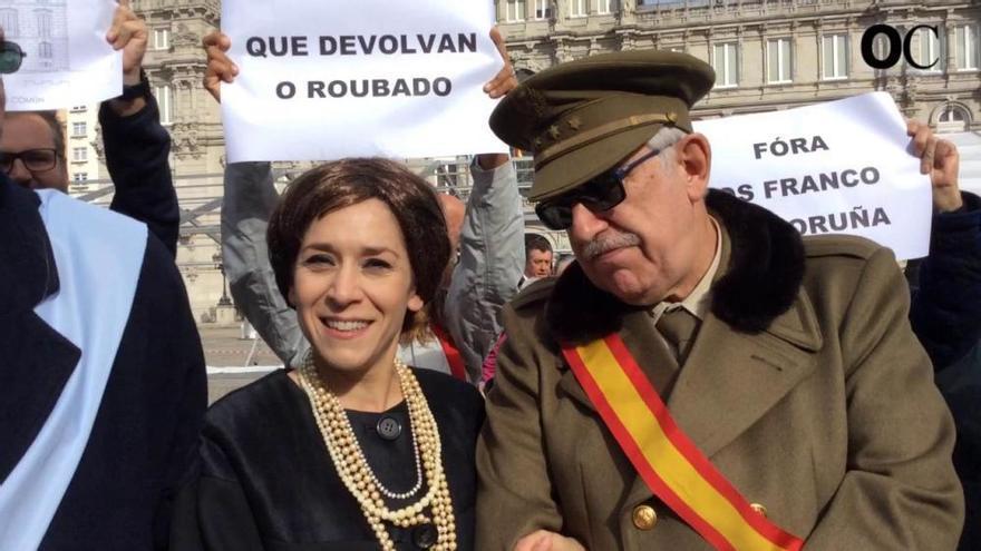 Viaje al pasado con los 'Franco' por la ciudad