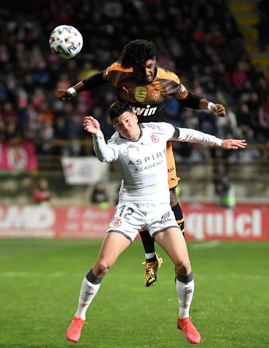Copa del Rey: Cultural Leonesa-Valencia CF