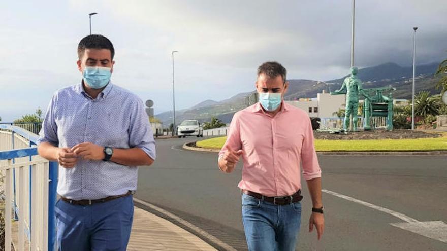 El Cabildo de La Palma mejora la calle Príncipe Felipe, en San Andrés y Sauces