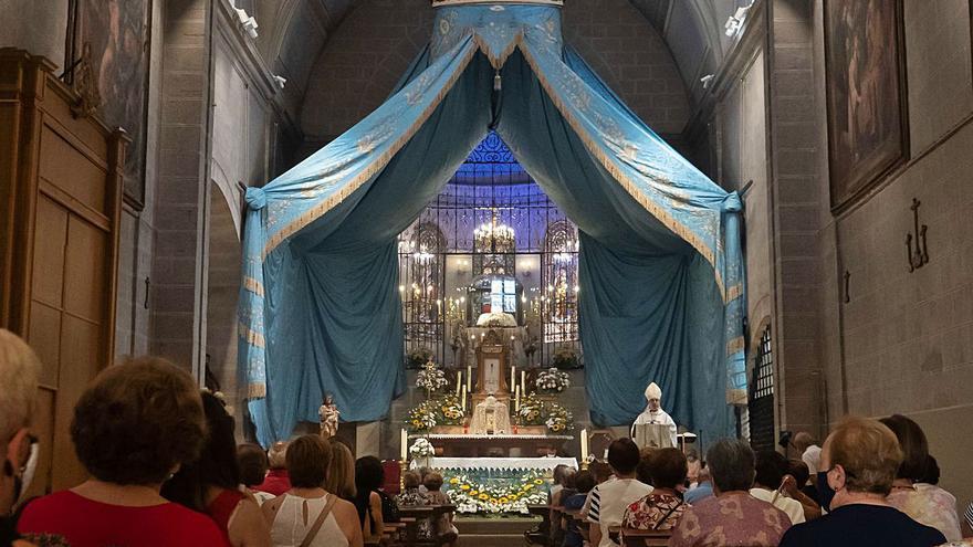 Novena a la Virgen del Tránsito en Zamora: devoción a través de Facebook