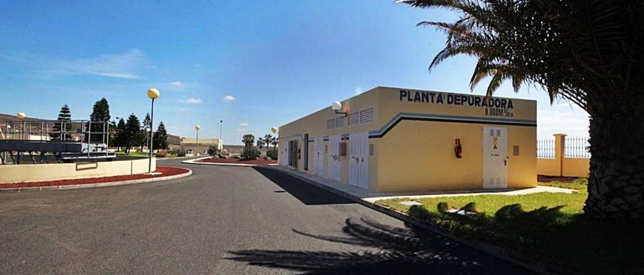 Estación de depuración de aguas residuales de Tías. | | CONSORCIO DE AGUAS DE LANZAROTE