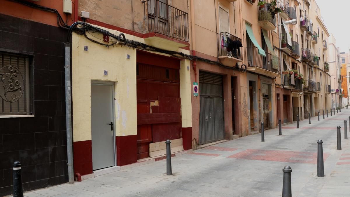 Pla general del carrer de l'Estel de Reus
