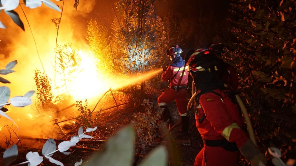 El incendio de Huelva ha arrasado ya unas 9.000 hectáreas