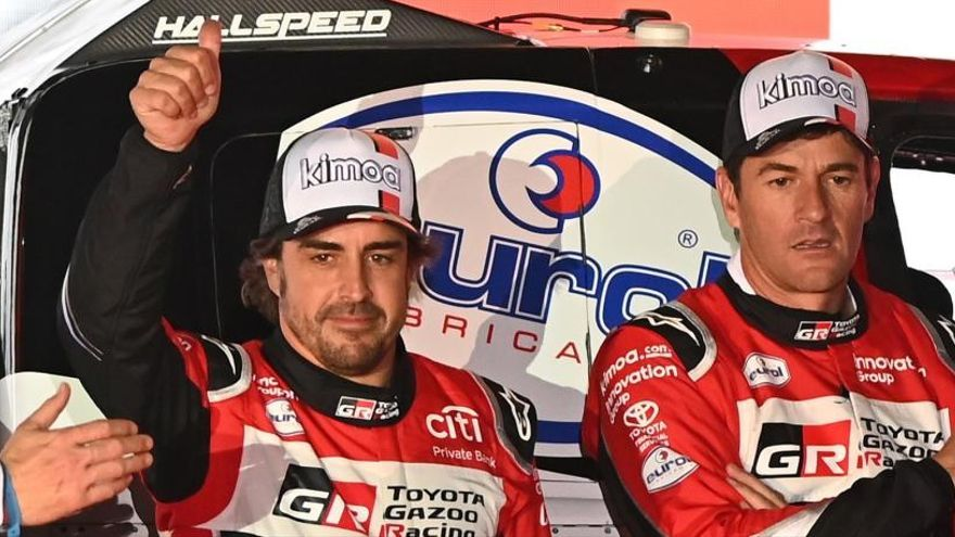 Tretzè lloc final al Dakar d'Alonso i Coma