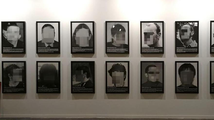 Un particular compra l'obra retirada a Arco per denunciar l'existència de «presos polítics»