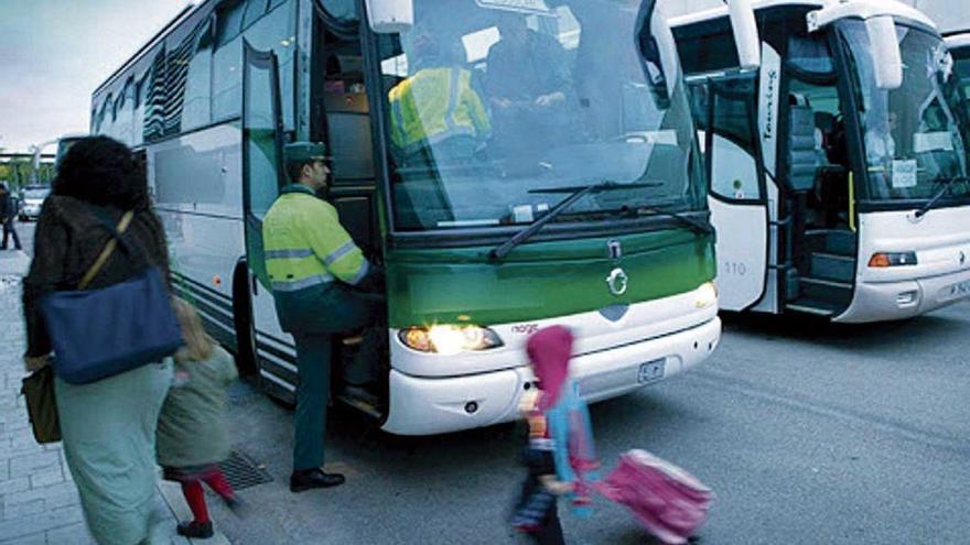 Detectan irregularidades en el 17% de los autobuses escolares de Baleares