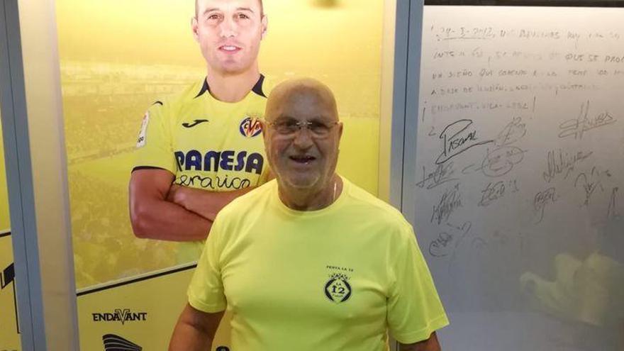 La afición del Villarreal llora el fallecimiento de Robin, el inglés con el corazón más 'groguet'