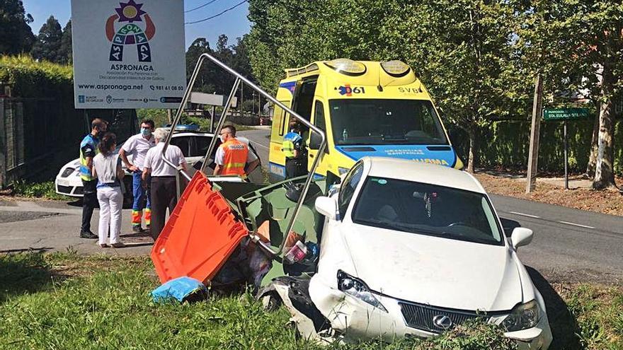 El Concello demanda a la Xunta mejoras en la avenida Díaz Pardo tras un nuevo accidente