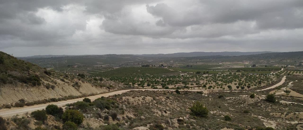 Imagen de la zona afectada por los proyectos entre las sierras de Pujálvarez y el Cristo