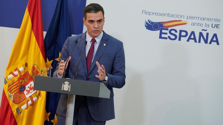 """Sánchez defiende el papel de Calviño en la reforma laboral y niega que haya """"intromisión"""""""