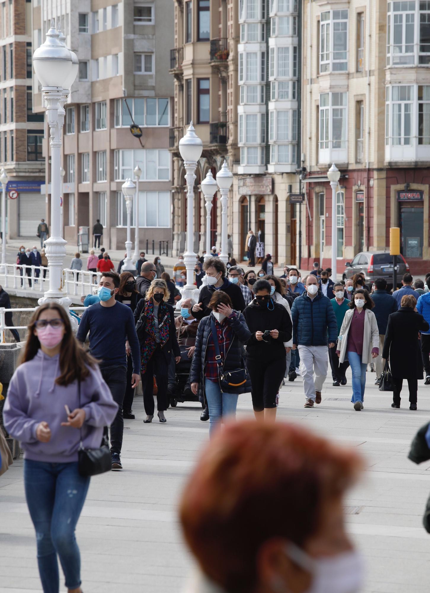 Semana Santa en las calles de Gijón