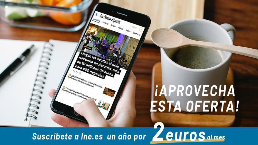 Oferta de verano: suscríbete todo el año a LA NUEVA ESPAÑA digital por menos de 28 euros