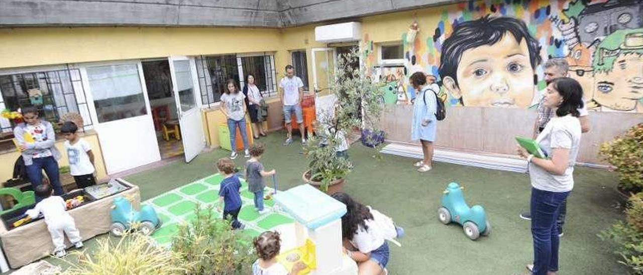 Niños en una guardería infantil. // FdV