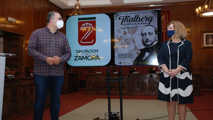 Zamora estrena este viernes un documental sobre Thalberg