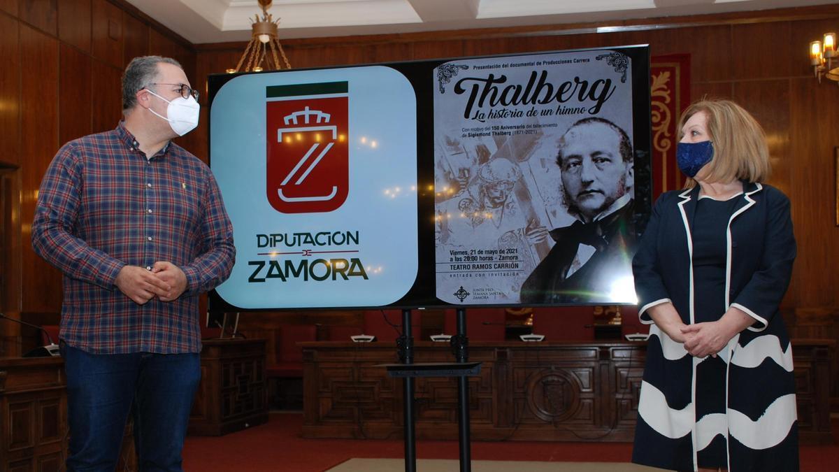 Presentación del documental de Thalberg.