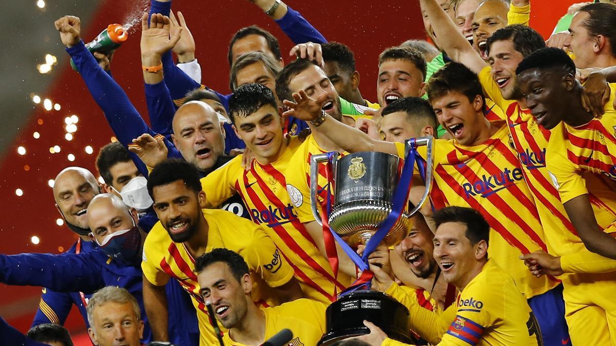 La emisión más vista fue la Copa del Rey que enfrentó al Athletic de Bilbao-Barcelona.