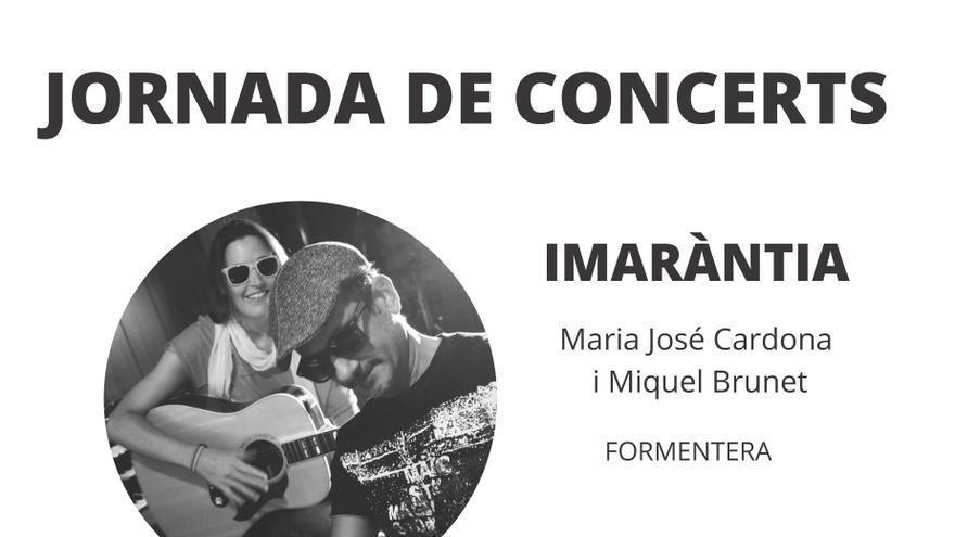 Jornada de concerts: Imaràntia i Joan Masdéu