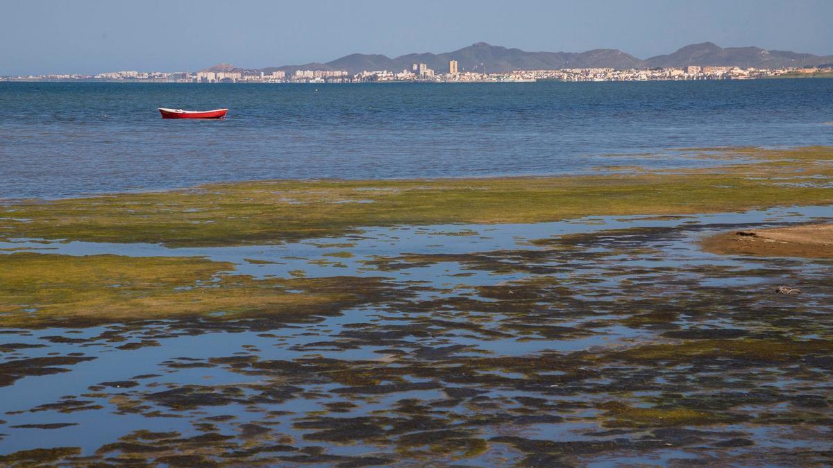 Imagen del Mar Menor del programa 'Crónicas'