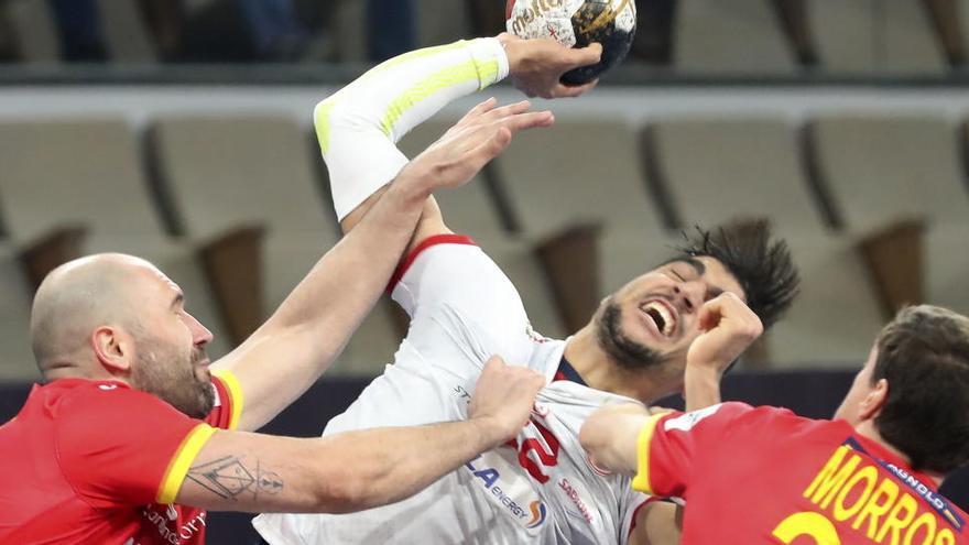 España gana a Túnez y pasa a la segunda fase del Mundial de balonmano