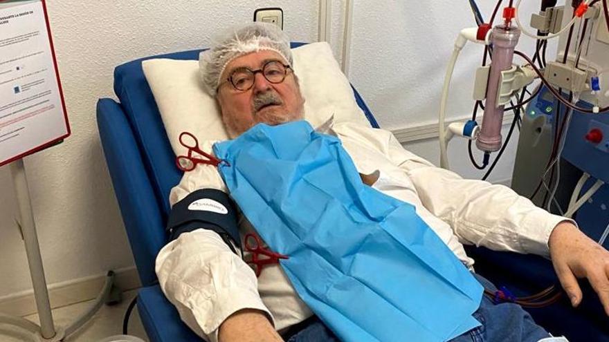"""""""No nos podemos hacer la diálisis de madrugada"""", denuncian los pacientes crónicos de Castellón"""