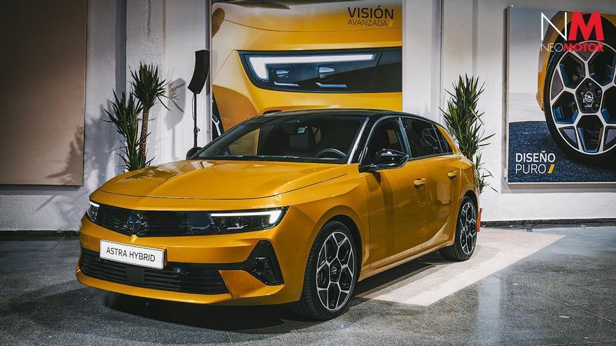 El nuevo Opel Astra ya está disponible en España desde 22.700 euros