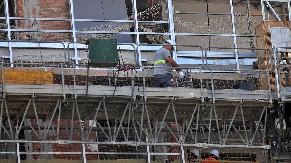 La construcción será el sector que más tire de la economía regional este año.
