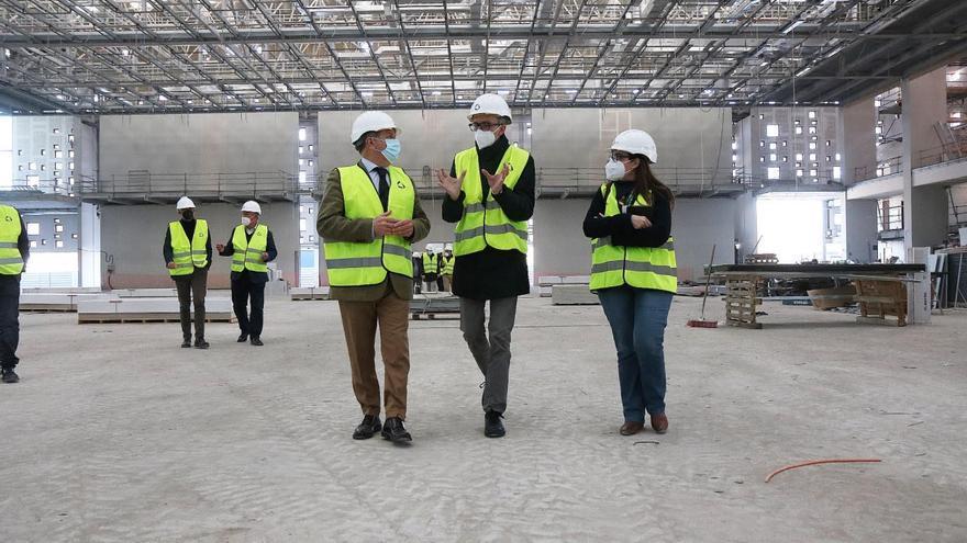 Los trabajos en el Centro de Exposiciones Ferias y Convenciones avanzan a buen ritmo