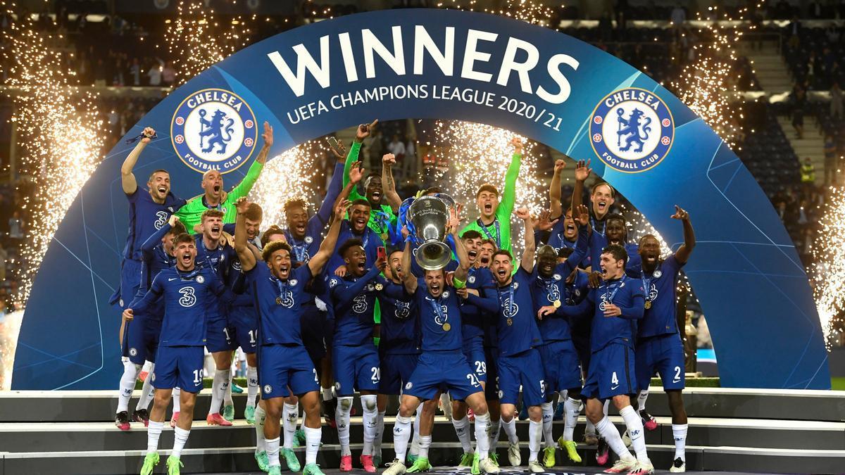 La Champions corona al Chelsea de Tuchel en Oporto ante el Manchester City