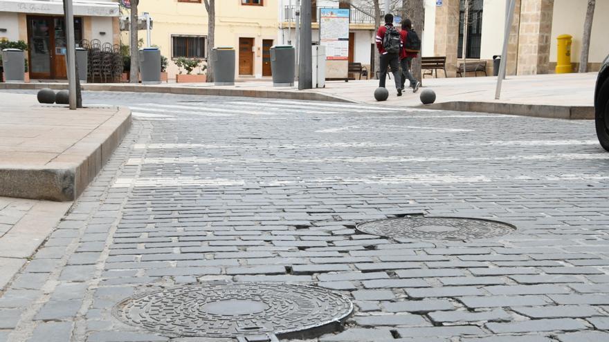 Xàbia reparará a partir del lunes los adoquines de sus rondas