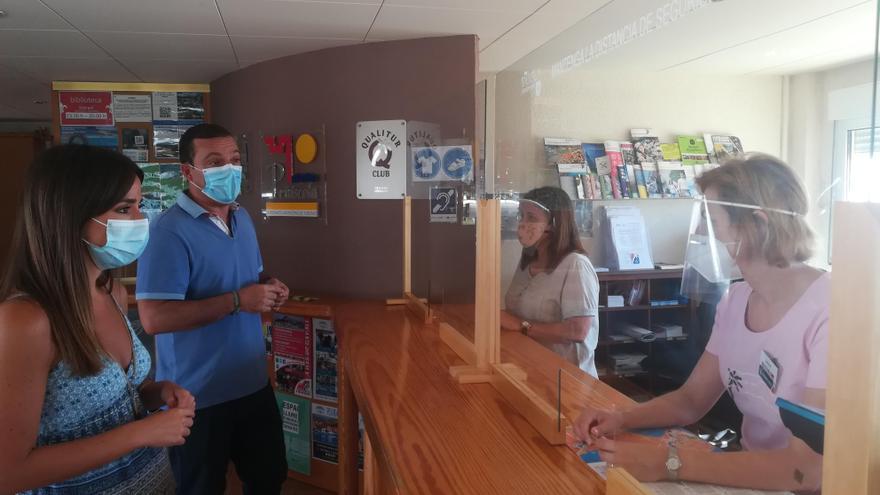 Las oficinas de turismo de Peñíscola atienden 780 consultas al día en agosto