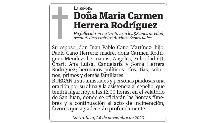 María Carmen Herrera Rodríguez