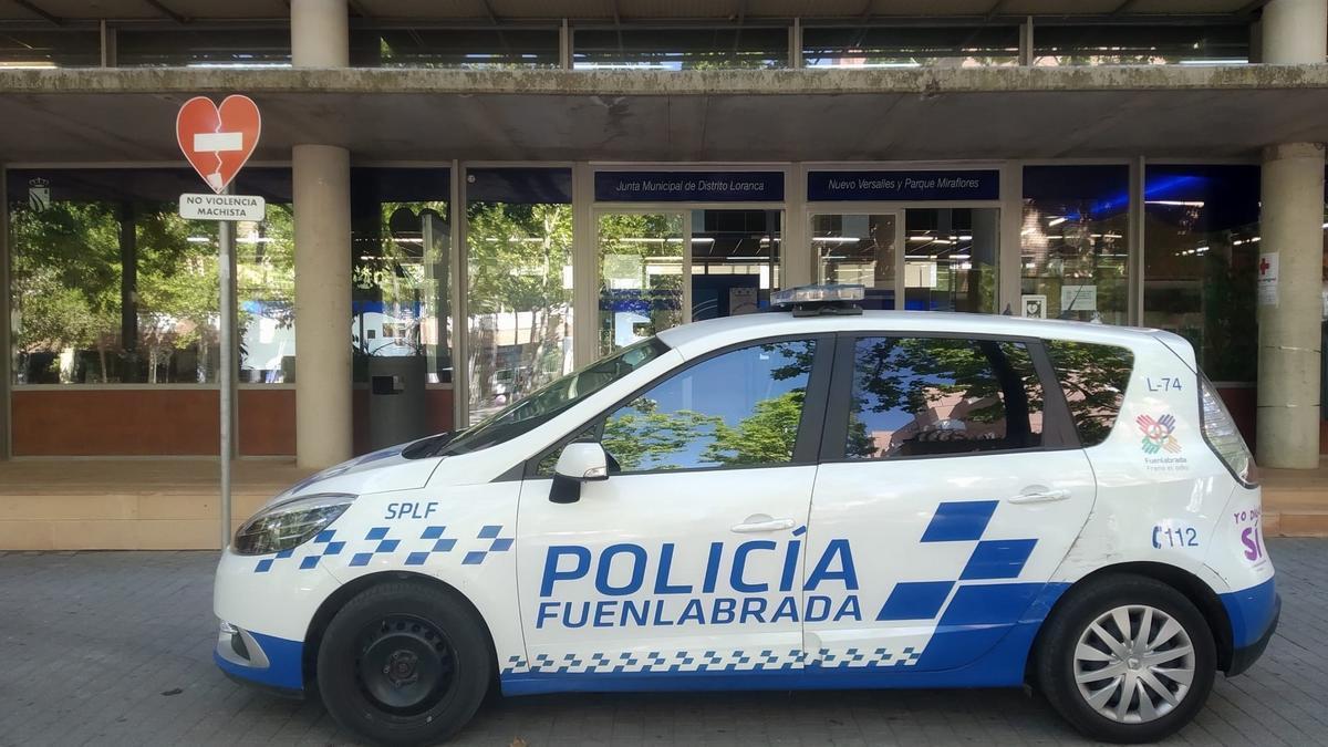 Coche de la Policía Local de Fuenlabrada