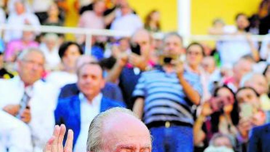 Las 83 velas en soledad de Juan Carlos I