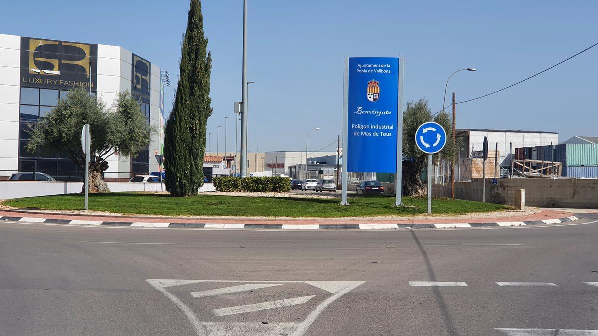 Modernización de polígonos industriales en La Pobla de Vallbona