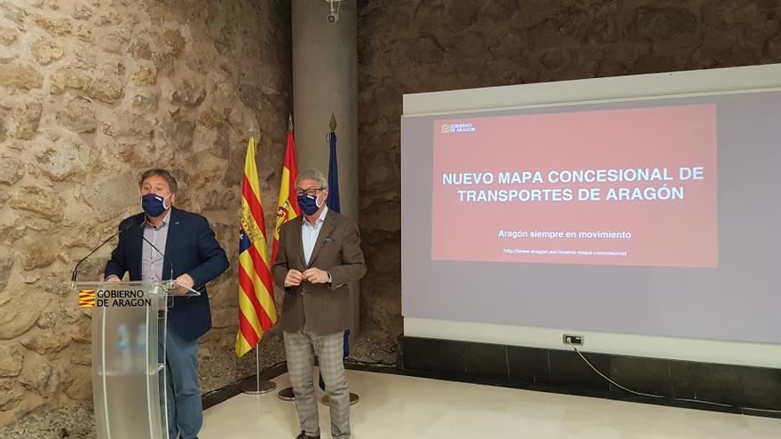 Hasta 57 nuevos núcleos de población de Teruel contarán con transporte público