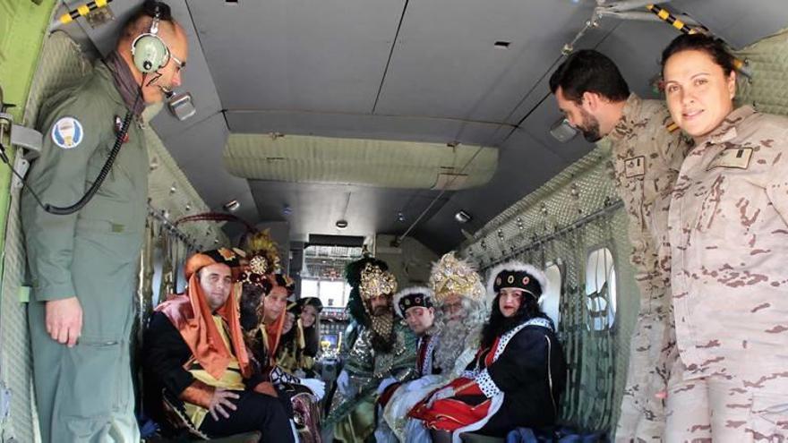 Unos Reyes 'de altos vuelos' aterrizarán en Alcantarilla