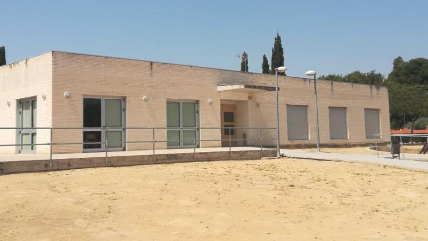 El centro social de La Huerta, un edificio «olvidado»