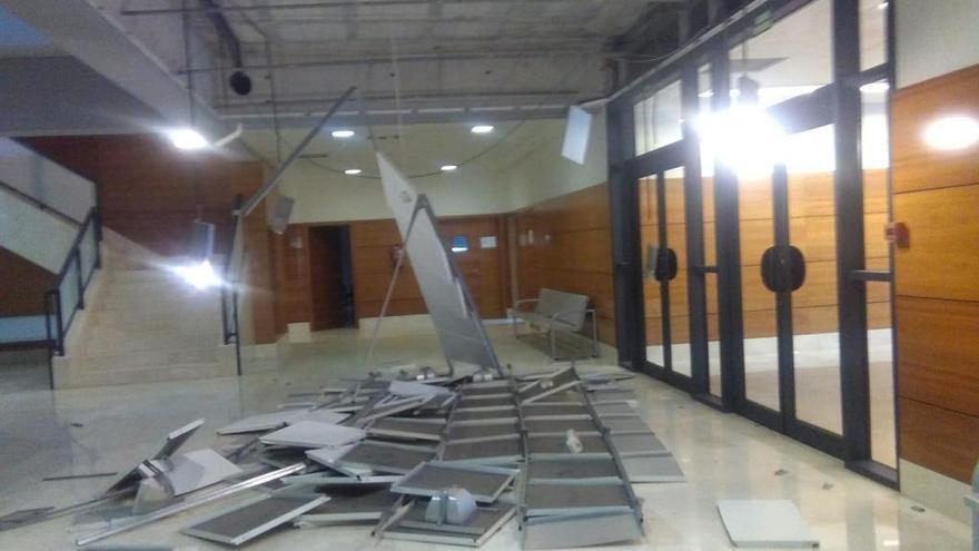 El tornado de Dénia también causa graves destrozos en el CDT