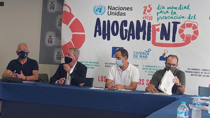 Día Mundial para la Prevención de los Ahogamientos en la Playa de Las Canteras