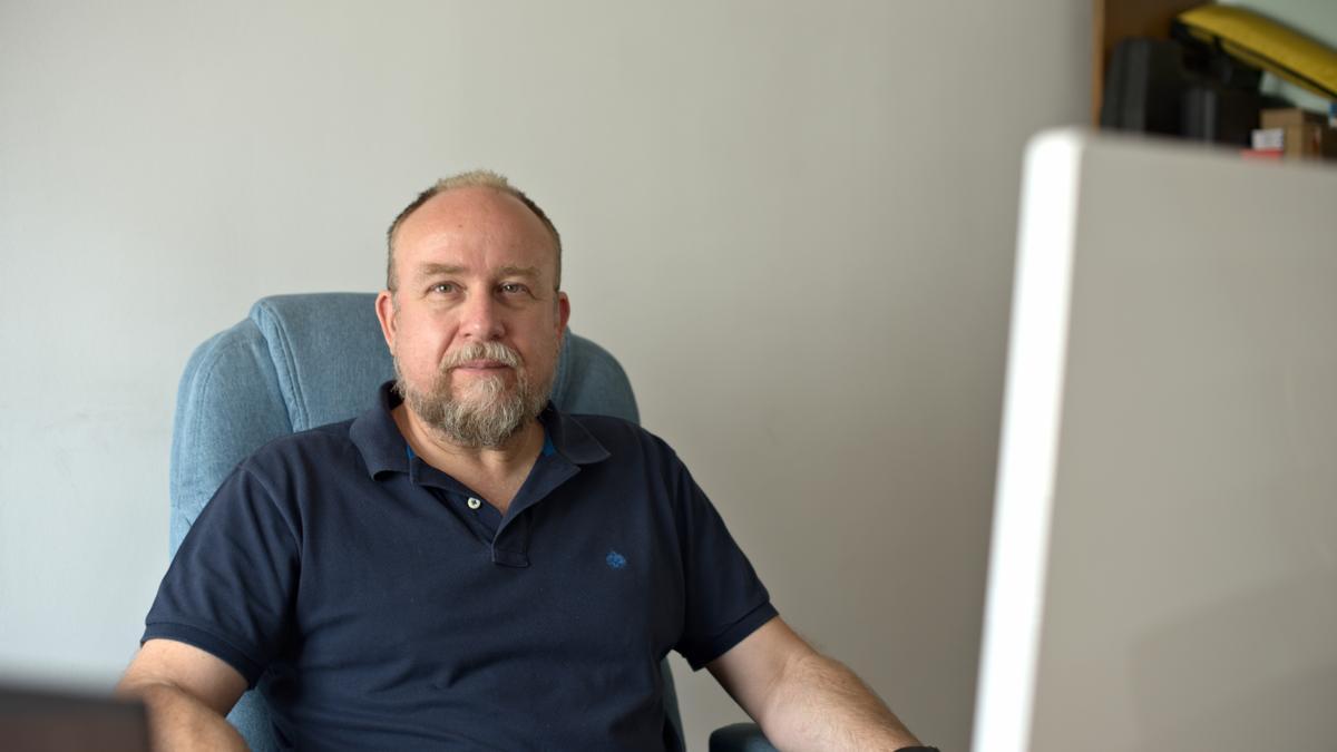José Antonio Verde, director de Radex.