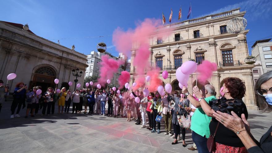 Actos en Castelló del día Mundial del Cáncer de Mama