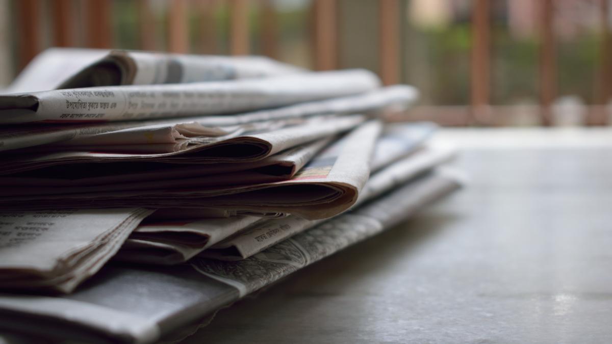 Periódicos en una imagen de archivo.