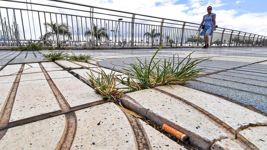 El Puerto solventará las humedades en los locales del Muelle Deportivo