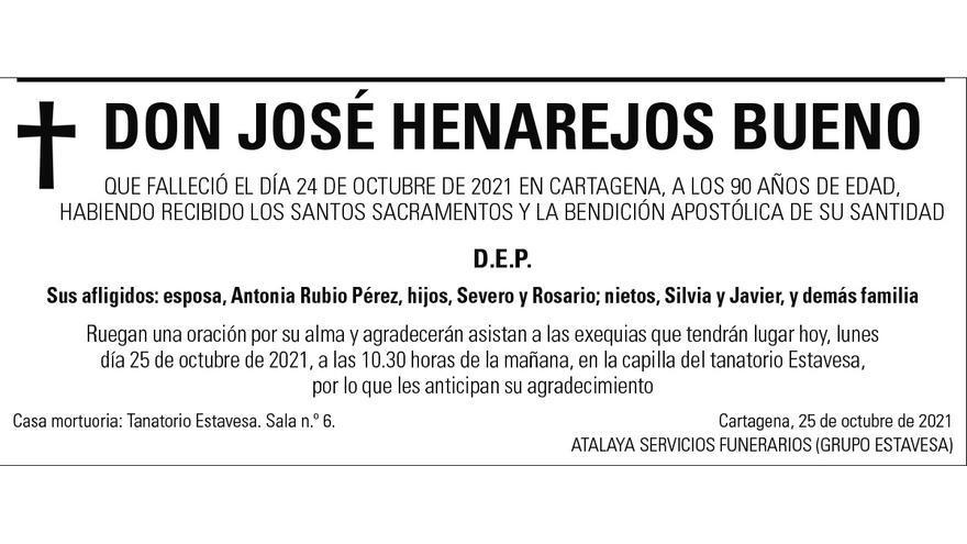 D. José Henarejos Bueno